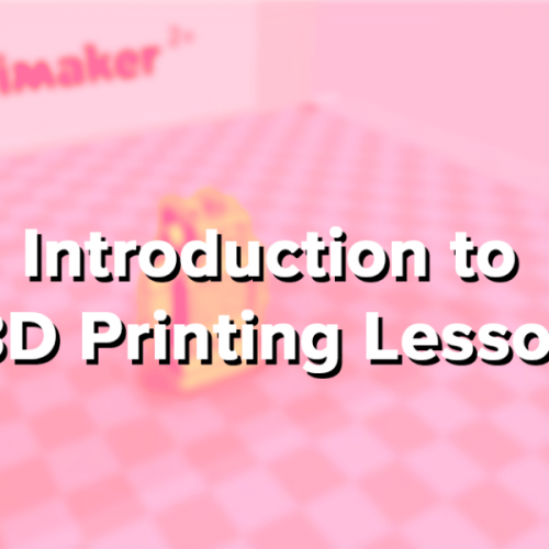 Introduction to 3D Printing Lesson