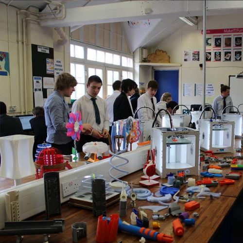 3D Printing in classroom