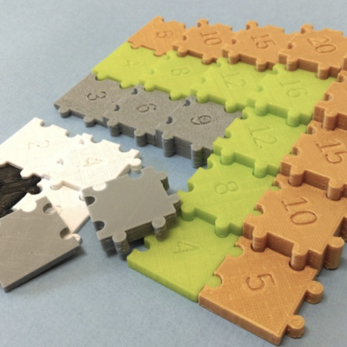Multiplication Puzzle Generator