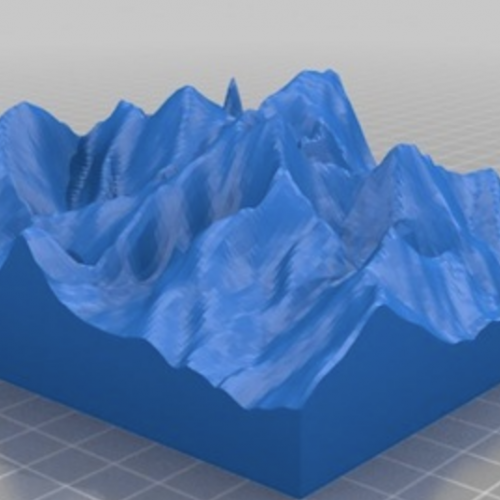 Snowdonia Relief Model